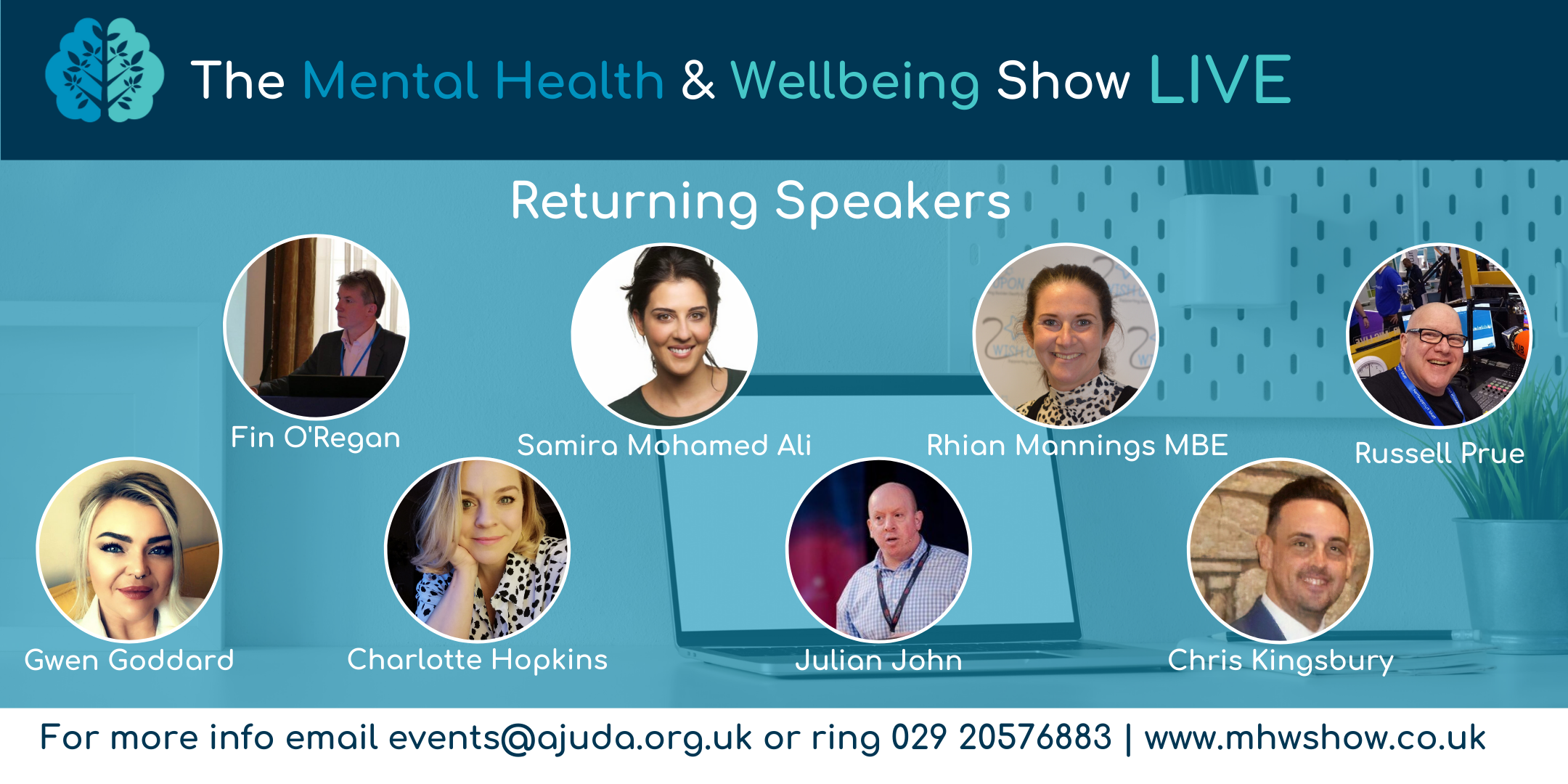 See lots of our online speakers live in Cardiff!